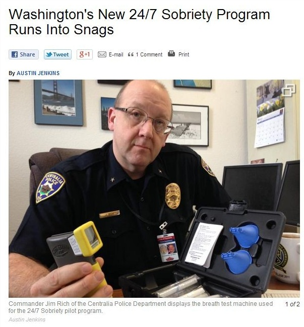 washingtons new 24-7 sobriety program runs into snags