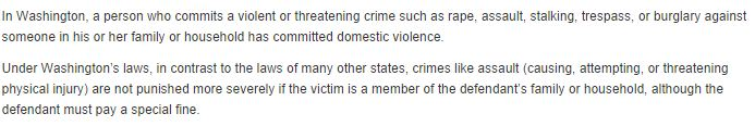 Facts from a Tacoma Criminal Lawyer-Defense against Domestic Violence