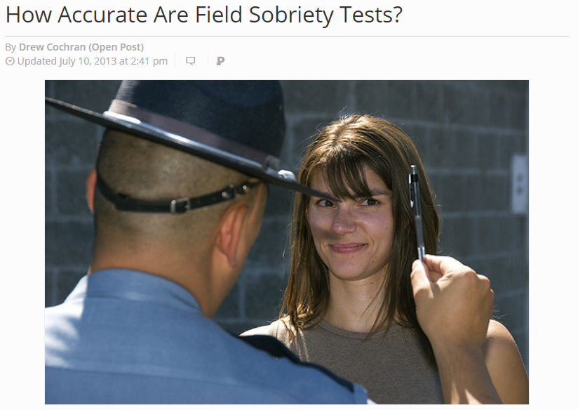 How Accurate Are Field Sobriety test